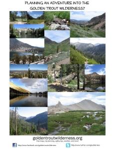 Golden Trout Wilderness website flyer