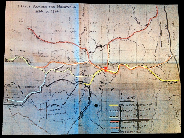 1834_to_1864_Historic_Trail_Map_Sequoia