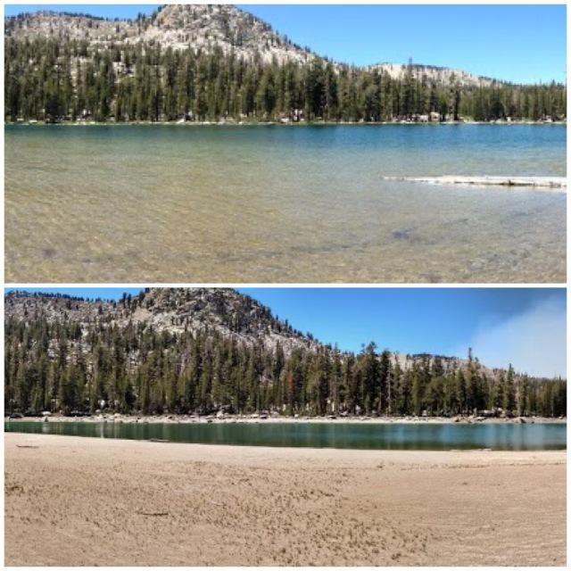 Maggie Lakes (Upper) - 2013 and 2015 Comparison