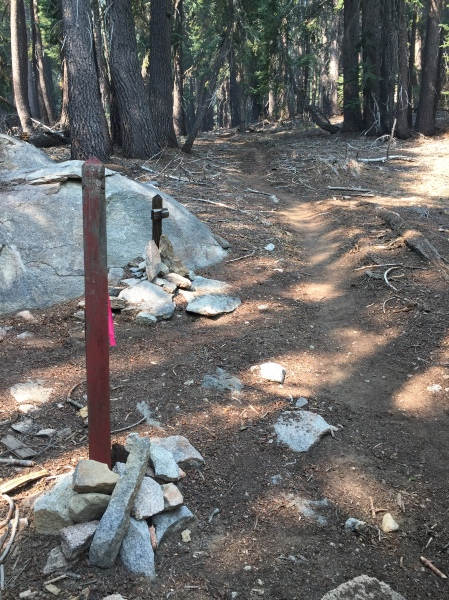 Griswold Trail meets with Summit Trail