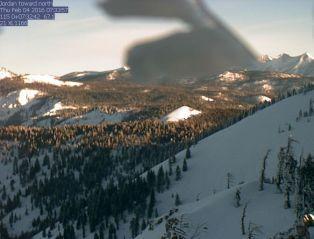 Jordan Peak towards Maggie Mtn.