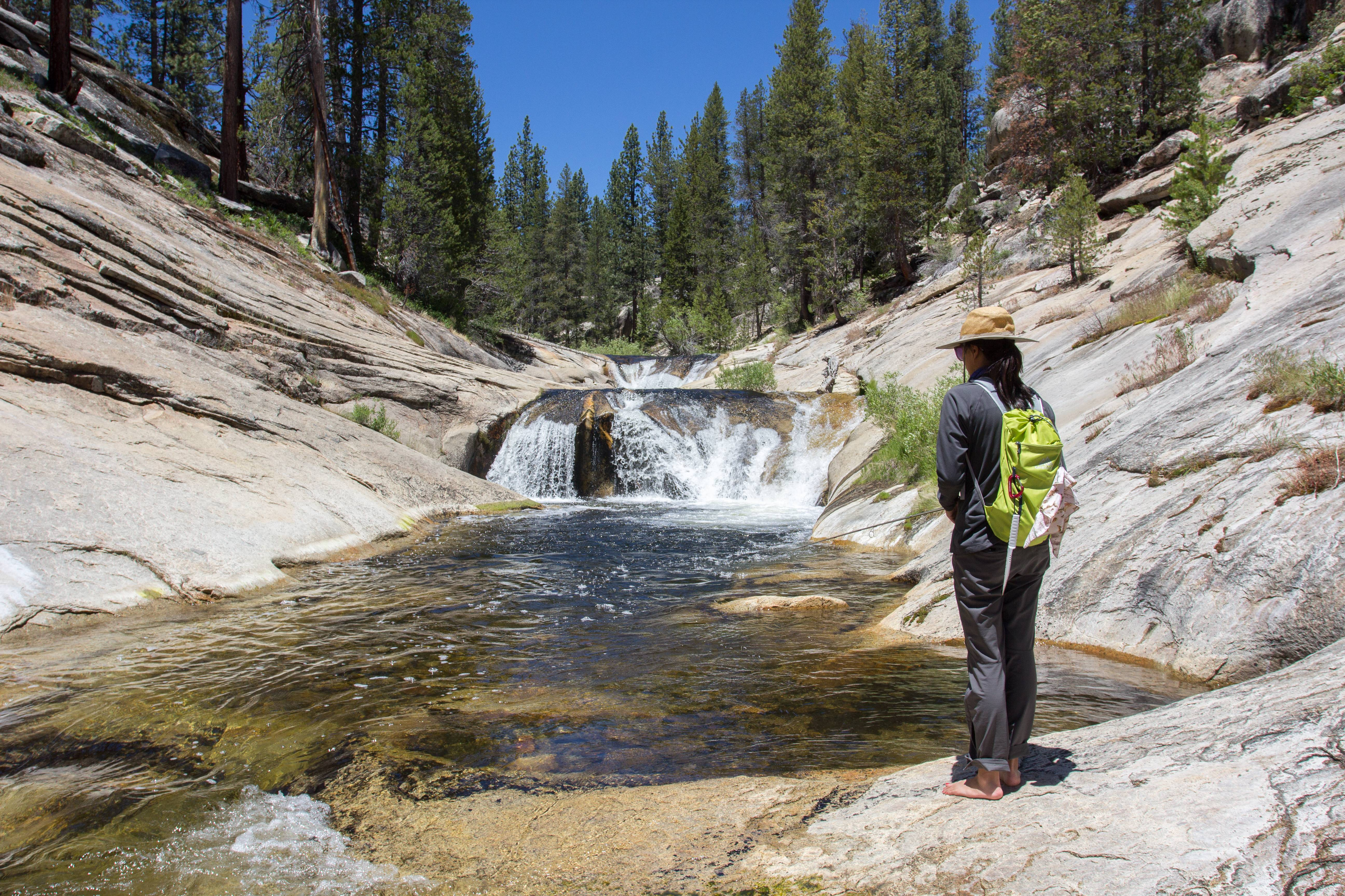 Trip report little kern river golden trout wilderness for Kern river fishing report