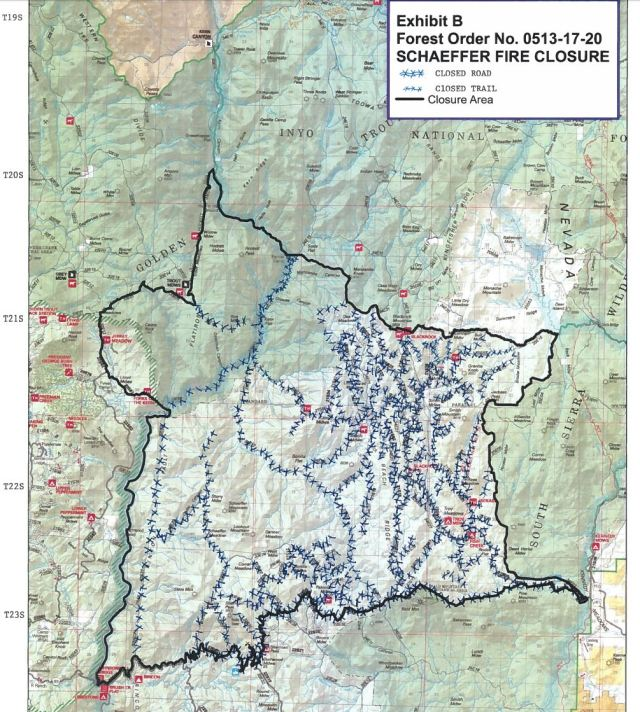 schaeffer fire trail closure