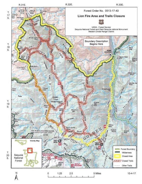lion_fire_trail_closure_map