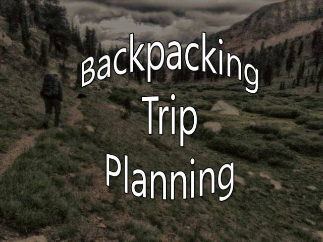 backpacking-planning